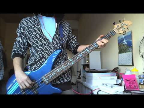 "[Fall Out Boy] ""The Take Over, The Break's Over"" - Bass Cover"