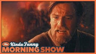 We're Never Getting An Obi-Wan Movie So Stop Asking - The Kinda Funny Morning Show 08.14.18