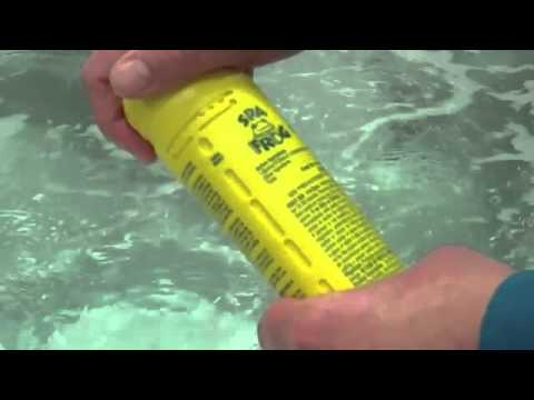 Spa Frog Floating System   How To Use