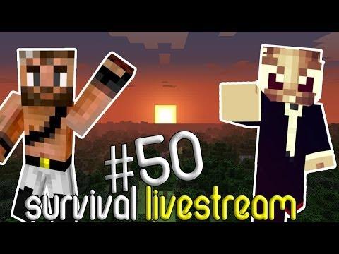 Minecraft Survival #50 - OP ZOEK NAAR PAARDEN! (Livestream)