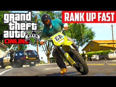 GTA 5 Online: How To Rank Up Fast! UNLIMITED RP AFTER 1.06 (GTA V)