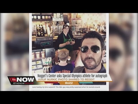 Justin Verlander gives a young fan the surprise of his life moments after snapping this selfie