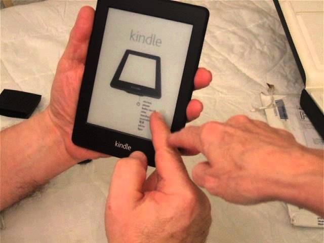 Unboxing the Kindle Paperwhite