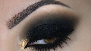 ♡ Black Smokey Eye   Melissa Samways ♡