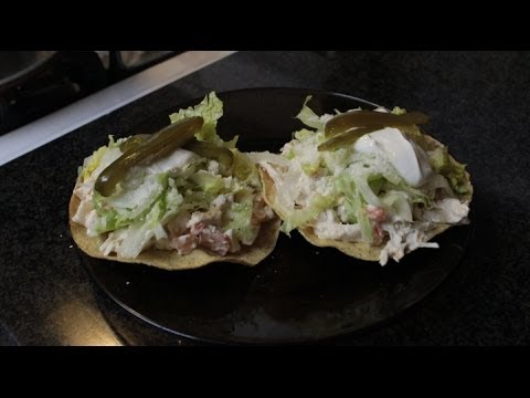 Chicken Salad Tostadas !!