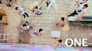 CoLoR & ONE BAND - We Are One [Official MV]