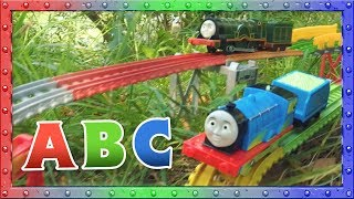 Outdoor ABC with Thomas, Edward and Emily | ABC Learning | Thomas and Friends