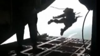 Army Paratrooper Accidentally Deploys His Reserve Parachute Inside Plane