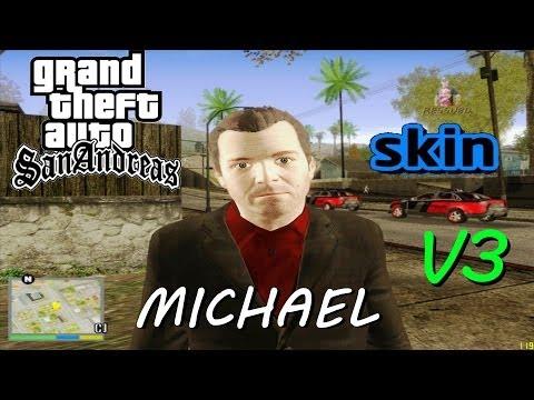DOWNLOAD SKIN MICHAEL DE GTA 5 (player.img) V3 PARA GTA SAN ANDREAS FULL HD 1080p
