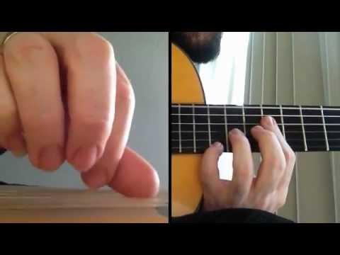 3-Finger Picado - from Percusion Flamenca by Paco de Lucia