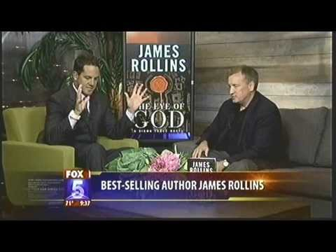 KSWB-TV Fox 5 discusses The Eye of God: A Sigma Force Novel w/ Action Thriller Author James Rollins