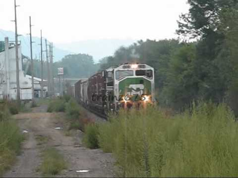RARE MUST SEE!! BNSF SD60M in 2010?!?!?!?!?!