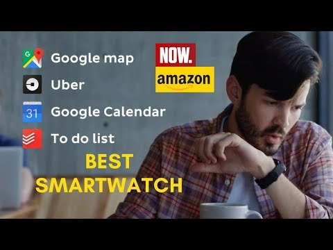Best Smartwatch in 2018 / Compatible with iOS and Android, Google Assistant - Must Buy this Ticwatch