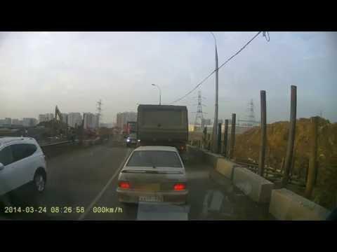 ДТП 24.03.14., пьяная дорога