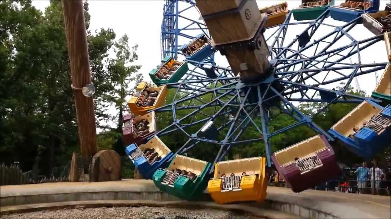 Xcalibur Six Flags St. Louis Off Ride 2013 HD 1080p - YouTube