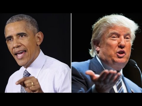 Foreign Policy: Where Obama and Trump can sound similar