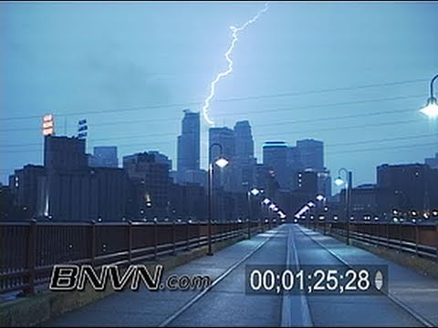 10/5/2007 Minneapolis, MN Lightning Vide
