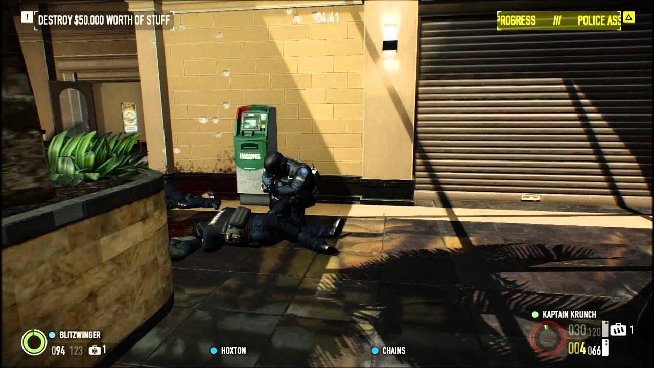 PayDay 2 - Gameplay/walkthough - Episode 4 - Mall Crasher ...