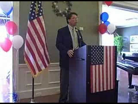 Pat McCrory urges everyone to VOTE!