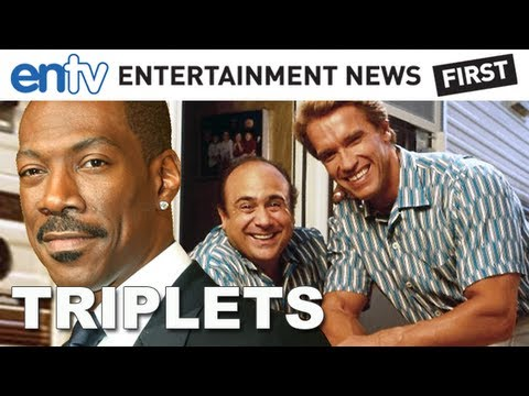 "Eddie Murphy Joins Twins Sequel ""Triplets"" (2013) - ENTV"