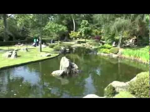 THE KYOTO GARDEN PANORAMA - HOLLAND PARK - LONDON - JULY 11, 2013