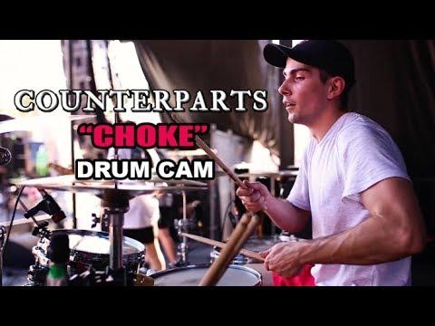 Counterparts | Choke | Drum Cam (LIVE) thumbnail