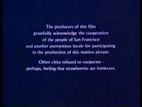 Opening to The Strawberry Statement- 1985 MGM/UA Home Video Grey Box edition