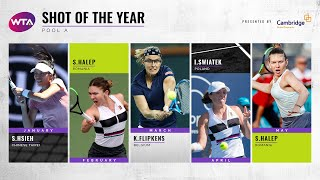 2019 WTA Shot of the Year (Pool A)