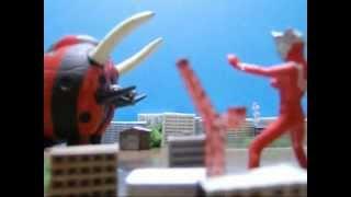 ウルトラマンレオ vs ブラックエンドの動画