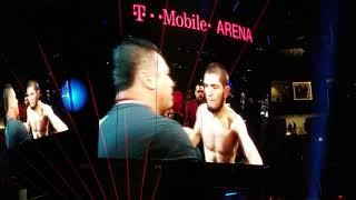 UFC 229 Khabib Nurmagomedov Entrance vs Conor McGregor Las Vegas October 6, 2018