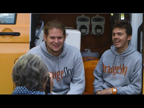 Orange Sky Laundry - Canberra Launch