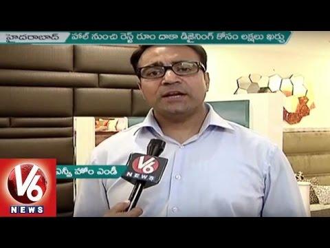 Drastic Rise In Interior Design Usage in Hyderabad | Interior Design | V6 Newws