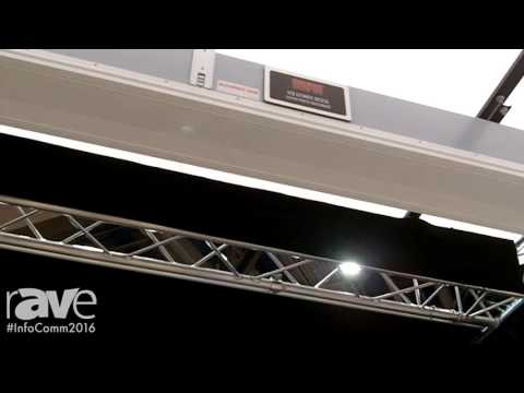 InfoComm 2016: Draper Demos Ultimate Access Ceiling Recessed Projection Screen