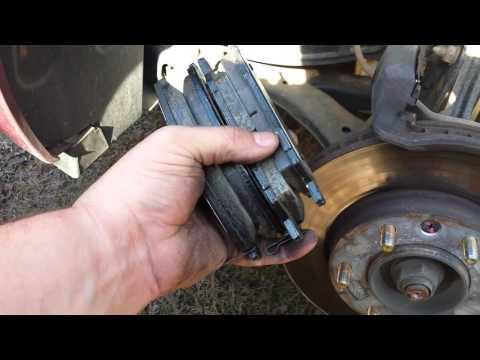 Changing brake pads on 2006 Kia Sedona