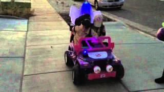 Ghostbuster Ecto-1 Powerwheels Jeep.