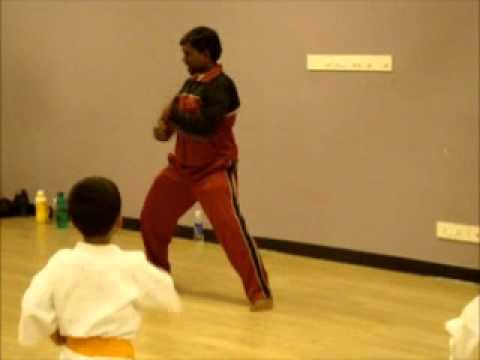 Okinawan Shorin-Ryu Karate Training at Sobha Club House - Part 1 (Warmup).wmv Image 1