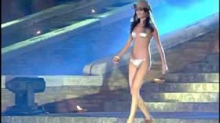 CALZEDONIA, sfilata d'amore e moda 2008, testimonial Filippa Lagerback.