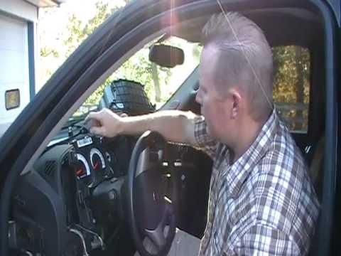 2009 Chevrolet Silverado Instrument Gauge Cluster Removal