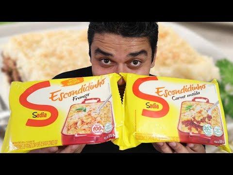 ESCONDIDINHO CONGELADO SADIA - Recheios de  Frango e Carne moída thumbnail