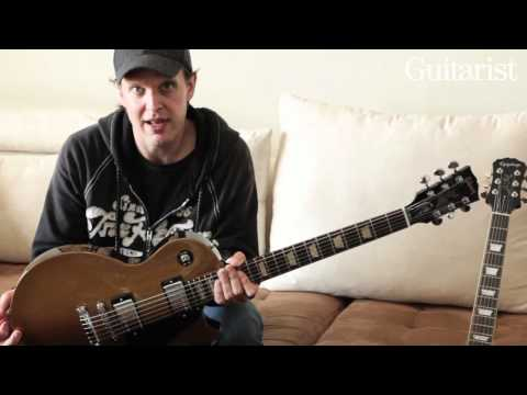 Joe Bonamassa Gibson and Epiphone Les Paul video demo Guitarist magazine HD