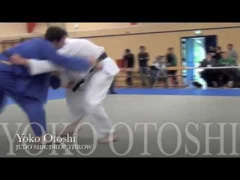 Yoko Otoshi JUDO SIDE DROP contest Ippon Image 1