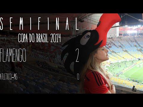 Flamengo 2x0 Atlético-MG (Semifinal Copa do Brasil 2014 - 1o. jogo)