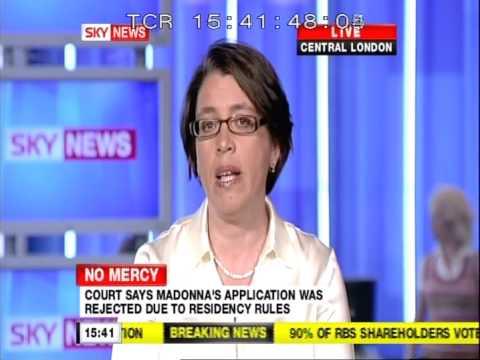 Madonna's Malawi adoption rejected: EveryChild responds on Sky News