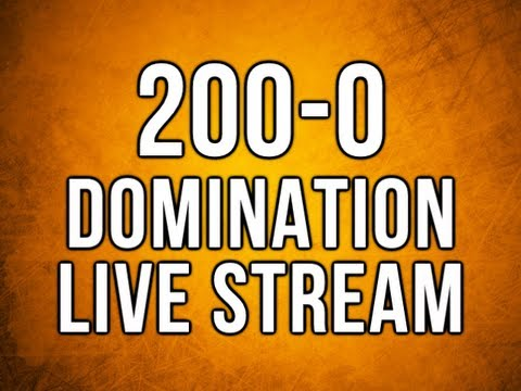 200-0 Domination - Black Ops 2 Live Stream