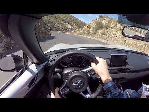2016 Mazda Miata MX-5 Club - WR TV POV Canyon Drive