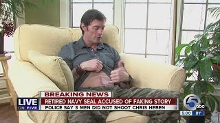 5PM: Bath Twp. Police: Former Navy SEAL Chris Heben lied about getting shot at West Market Plaza