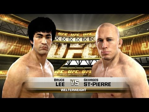 "[PS4] EA UFC ""BRUCE LEE"" VS ""GSP"""