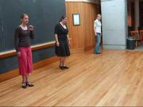 Dartmouth Tango Workshop with Alicia Cruzado: Walking Drill