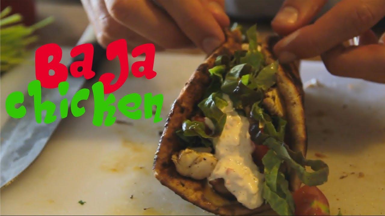 Baja Chicken Tacos Taco Bell's Baja Chicken