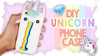 DIY | Kawaii Unicorn Phone Case Tutorial - Cover Unicorno Kawaii